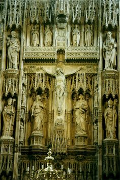 Winchester+Cathedral+-+High+Altar+Stone+Reredos,England