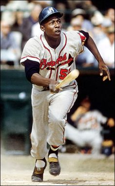 Henry Aaron- Milwaukee & Atlanta Braves: Had the honor of shaking his hand and getting his autograph