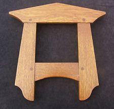 """Arts & Crafts Style Oak Frame for 6"""" Tile"""