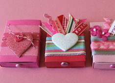 How-Tuesday: Matchbox Valentines on Etsy