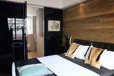 Welcome to darren palmer interiors Timber Feature Wall, Feature Wall Bedroom, Feature Walls, Darren Palmer Interiors, Interior Architecture, Interior Design, Contemporary Bedroom, Dream Bedroom, Luxury Living