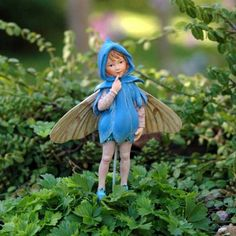 Scilla Fairy - Flower Fairies By Cicely Mary Barker Add an Accent http://www.amazon.com/dp/B0042H2RA8/ref=cm_sw_r_pi_dp_D.oItb0KZ15KBTHX
