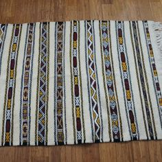 Moroccan Berber Handwoven Wool Kilim Rug