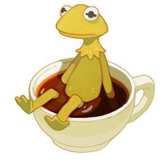 When you decide it's none of your business but you're swimming in the tea #kermit #lol #ihadtodoit #butthatsnoneofmubusiness