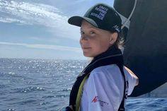 'Let's do it now': Greta Thunberg crosses Atlantic and calls for urgent climate action Donald Trump, School Strike, Rough Seas, New York Harbor, Princess Caroline Of Monaco, Climate Action, Lets Do It, Hudson River, Coney Island