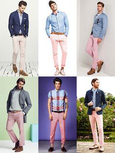 2014 Spring/Summer Capsule Wardrobe Pick: Pink Chinos Lookbook Inspiration