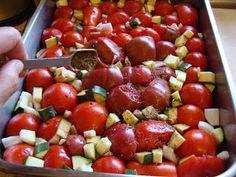Roasted Vegetable Marinara Sauce yum.