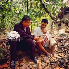 Sharing the good news using the Nias language, one of the tribes in Indonesia. -- Photo shared by @jmproject