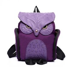 Now In Color: Owl Backpack