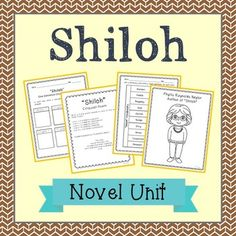 Shiloh Book Summary and Study Guide