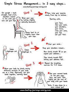 Stress Release in 3 easy steps... - www.awakening-intuition.com