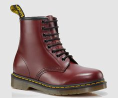 Dr. Martens have become icons, recognized worldwide for their uncompromising looks, durability and comfort. These styles embody all that is true and unique to Dr. Martens. 8 Eyelet 1460 Boot Smooth is the classic Dr. Martens leather; durable, with a smooth finish Dr. Martens air-cushion sole, oil and fat-resistant, offers good abrasion and slip resistance Made with Goodyear welt, the upper and sole are heat-sealed and sewn together.