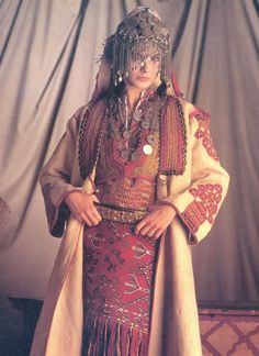 Serbian costume from the Prizren area
