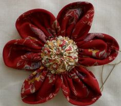 Fabric Flower Yo-Yo's