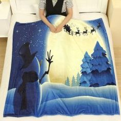 Christmas Of Blankets & Throws Fashion Shop Online | Twinkledeals.com