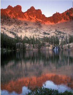 One of my favorite places: The Sawtooth Mountains.