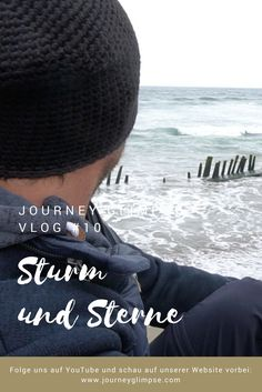 Im Vlog #10 wird es stürmisch. Wir gehen aber trotzdem raus und fotografieren die Sterne und die Milchstrasse. Lonely Planet, Chile, Journey, Crochet Hats, Starry Night Sky, Continents, Nice Asses, Knitting Hats, Chili