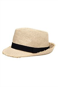 """3 girls can rock this Raw Trim Trilby together . """"wear hat, sunscreen, otherwise get sunburn"""" Too Cool For School, Panama Hat, Hats, How To Wear, Sunscreen, Clothes, Accessories, Christmas, Guy"""