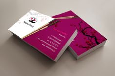 szablon wizytówki Sushi Sushi, Business Cards, Restaurant, Graphic Design, Cover, Visit Cards, Diner Restaurant, Carte De Visite, Restaurants