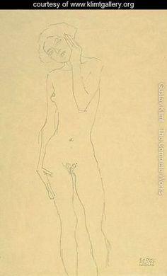 Klimt sketches