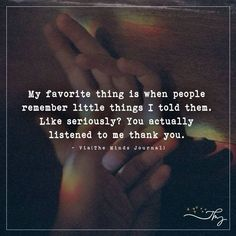 My favorite thing is - http://themindsjournal.com/my-favorite-thing-is/