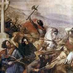 Battaglia Di Poitiers 732