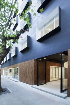 The Black Box, Shanghai by Neri&Hu Design and Research Office.