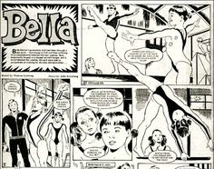 who remembers Bella Barlow from the Tammy comics in the 1970's.  Gymnast who wanted to make it to the Olympics but was always thwarted by her mean uncle.  I wonder what happened in the end?