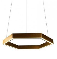 Resident HEX 750 Hanglamp goud/messing