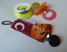 Lil' Pumpkins Halloween Pacifier Clip by littlejoeydesigns on Etsy