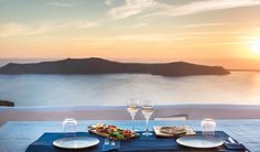 Luxury Suites Santorini combines a world of beauty and tradition! Luxury Suites, Eating Well, Santorini, Drink, Food, Beverage, Eat Right, Eten, Drinking