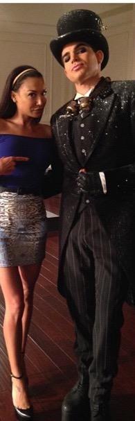 Naya & Adam Lambert