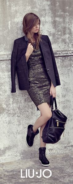24h Look: Lace Dress by Day #liujo