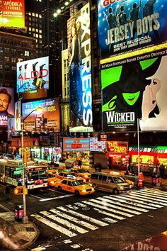 7. I'd Rather Be... ~ In New York City! Broadway!