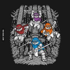 Teenage Mutant Ninja Ewoks!
