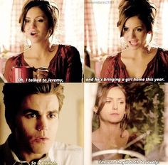 TVD - parallel universe - Stefan and Elena's marriage