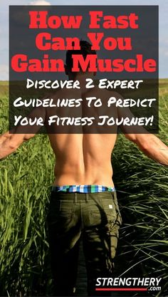 Discover how fast you realistically can gain muscle. Learn why some fat gain should be expected, and why it is actually optimal for muscle growth. Start your fitness journey today! Muscle Diet, Muscle Building Diet, Muscle Building Workouts, Muscle Fitness, Gain Muscle, You Fitness, Fitness Motivation, Fitness Tips, Ladies Fitness