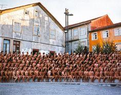 Santa Maria da Feira, Portugal 2003 // Spencer Tunick