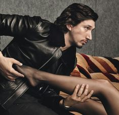 Oh Adam, put my leg down