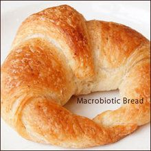Macrobiotic crescent roll non-use eggs, dairy products and white sugar 卵・乳製品・白砂糖不使用の小さなお店のクロワッサン