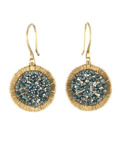 Dana-Kellin-Teal-Blue-Diamond-Faceted-Cube-Mosaic-Earrings-10903615-2350.jpg (500×625)