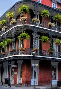 French Quarter. New Orleans, Louisiana. -- would love to go during Mardi Gras!