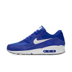 new arrival 71212 58233 shop nike air max 90 id blue white grey women s trainer shoes, checkout to  enjoy off your purchase!