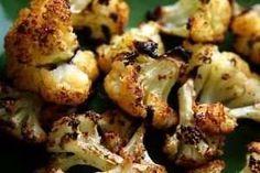 cauliflower! roasted cauliflower (olive oil, sea salt, garlic, lemon)