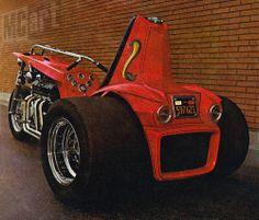 custom trike V8