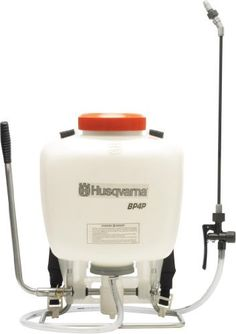 Husqvarna BP4P 4-Gallon Commercial Backpack Sprayer by Husqvarna. $79.95. 15-80 psi working pressure, 150 psi maximum pressure. Critical seals and o-rings made of viton/nytril formulation. Patented external piston pump (repairable). 47-inch industrial hose and 20-inch brass wand. 4 gallon capacity. The Husqvarna BP4P Commercial Backpack Sprayer features include: 15-80 PSI working pressure, 150 PSI maximum pressure, patented external piston pump (repairable) that offers incredibl...