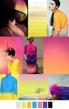Cabello de color luz