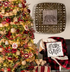this christmas give your home cozy cabin charm with the warm and rustic northwood lodge collection