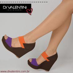 Olha  que linda essa anabela da nova coleção di Valentini. ❤️ Ref. 567 02307  #divalentini #shoes #love #moda #dvwinter