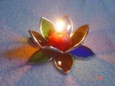 stained glass flower - Google Search